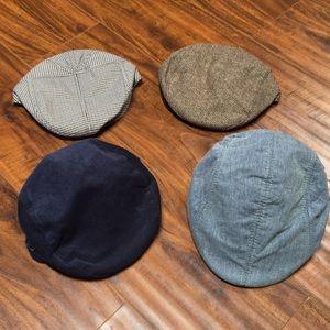 Toddler Messenger Boy Hats x4